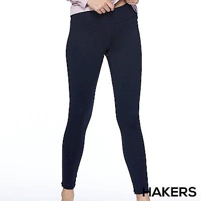 【HAKERS】女款 快乾內搭褲(黑丈青)