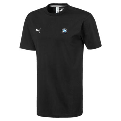 PUMA-男性BMW系列MMS Life短袖T恤-黑色-歐規