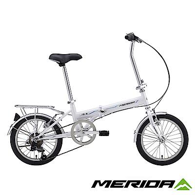 《MERIDA》美利達 FB16折疊車 白 16吋輪徑 6速 2018