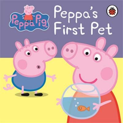 Peppa Pig:Peppa s First Pet 佩佩豬的寵物精裝硬頁書