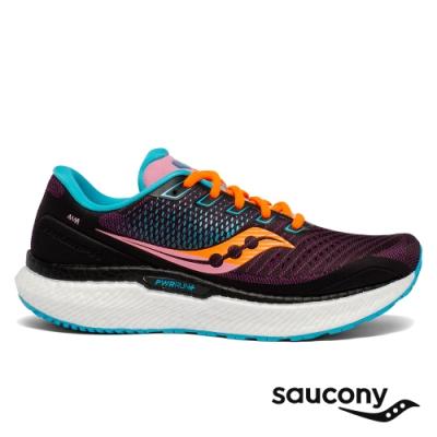 【Saucony】女 TRIUMPH 18 緩衝避震跑鞋(未來粉-SCS10595-25)