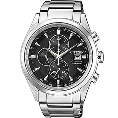 CITIZEN Eco-Drive決戰時刻鈦金屬計時腕錶(CA0650-82F)