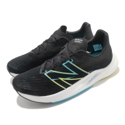 New Balance 慢跑鞋 FuelCell Rebel V2 男鞋 紐巴倫 寬楦 路跑 運動休閒 緩震 穿搭 黑 白 MFCXLK22E