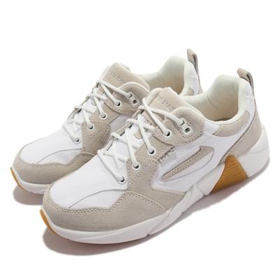 Skechers 休閒鞋 A-Line-Mable 女鞋 避震 緩衝 耐用 防滑 異材質拼接 白 灰 133245-WHT