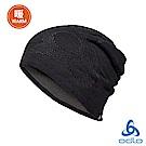 Odlo 保暖型雙面針織毛帽 黑/odlo鋼鐵灰
