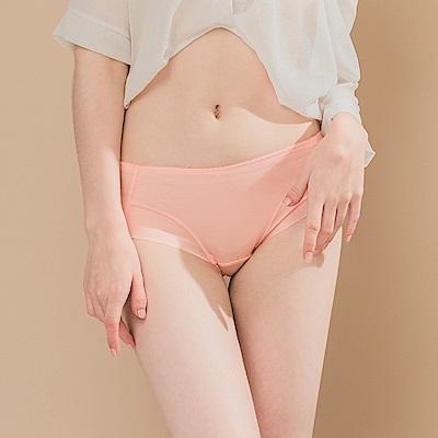 無痕透氣超健康竹炭包臀中腰M-XL內褲 為你瘋狂 可蘭霓Clany