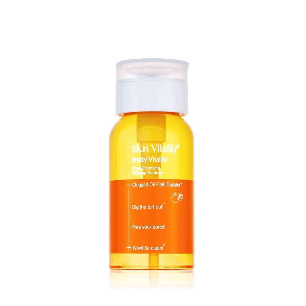 Skin Vitality 膚能量果然淨化毛孔卸妝水 150mL