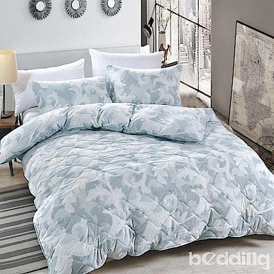 BEDDING-舒適系列海島棉6尺加大雙人薄式床包三件組-安琪爾