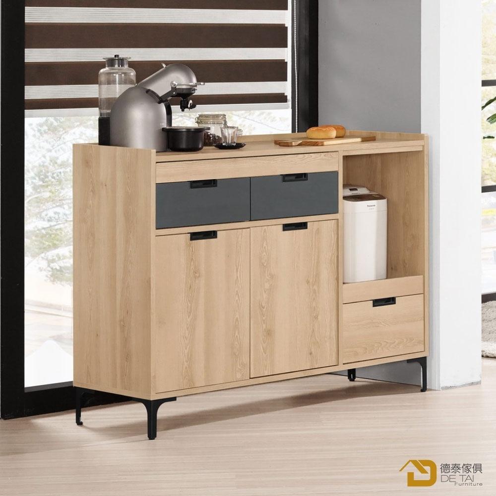 D&T 德泰傢俱 Smeg4尺餐櫃 寬120X深40X高90(公分)
