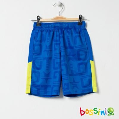 bossini男童-ZtayDry快乾短褲04淡藍