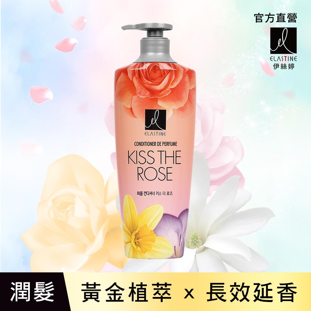 ELASTINE 伊絲婷 大馬士革玫瑰香水潤髮乳600ml(新裝)