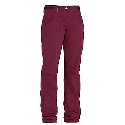 法國【EiDER】女排汗透氣保暖多功能長褲玫瑰紅