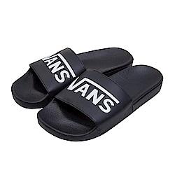 (男)VANS Slide-On 素色休閒拖鞋*黑色