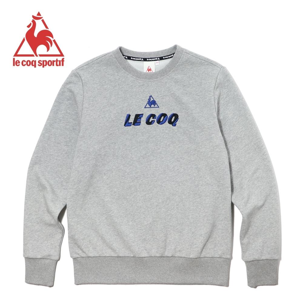 法國公雞牌圓領T恤 LWK2330195-中性-麻灰