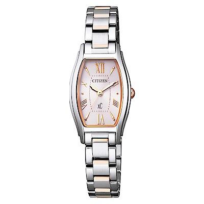 CITIZEN 星辰XC 限量完美電波腕錶- 雙色EW5544-51W