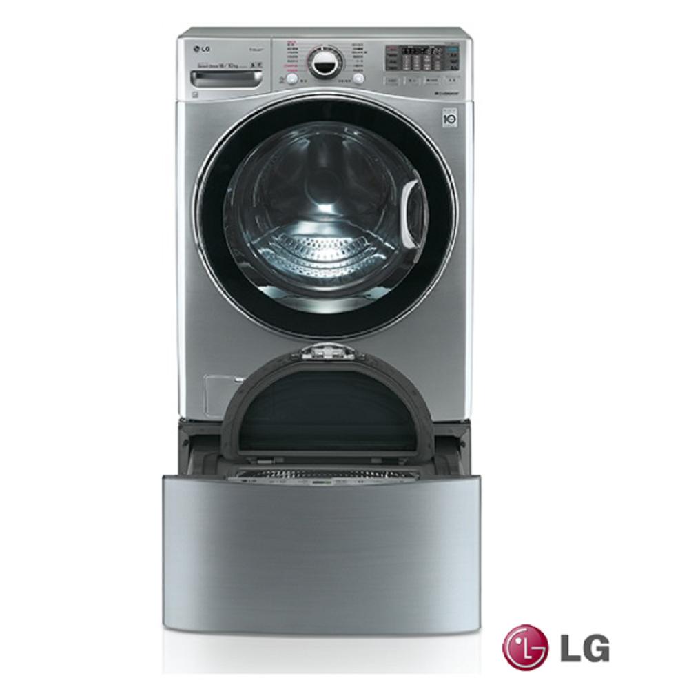 [無卡分期12期] LG樂金 18KG+2.5KG TWINWash 洗衣機 WD-S18VCD