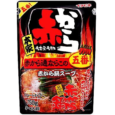 Ichibiki 本家赤鍋湯底[大辣](750g)