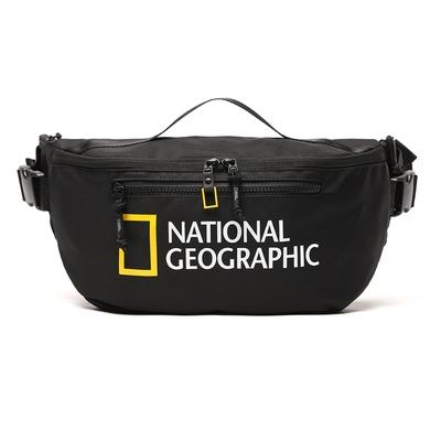 NATIONAL GEOGRAPHIC Big LOGO Sling Bag V2  腰包 黑-N211AHI030099