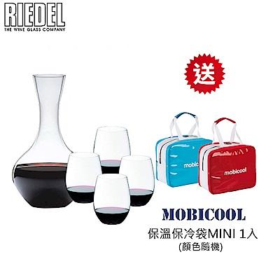 RIEDEL O系列CABERNET/MERLOT 紅酒杯4入 + O 醒酒器1入