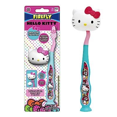 美國 FIREFLY Hello Kitty 兒童牙刷(附造型刷蓋)
