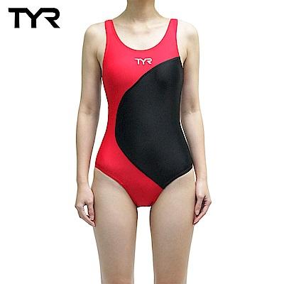 美國TYR 女用修身款泳裝 Adra Maxback Red