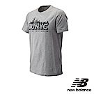 New Balance 棉質短袖上衣 MT83530MAG 男 灰