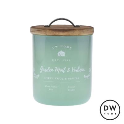DW HOME 美國香氛 農園系列 薄荷馬鞭草 原木蓋玻璃罐 240g