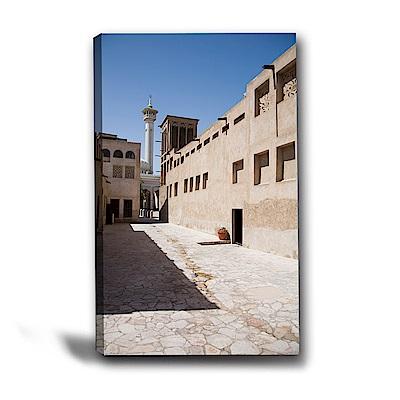 24mama掛畫-單聯式直幅 掛畫無框畫-街景-40x60cm