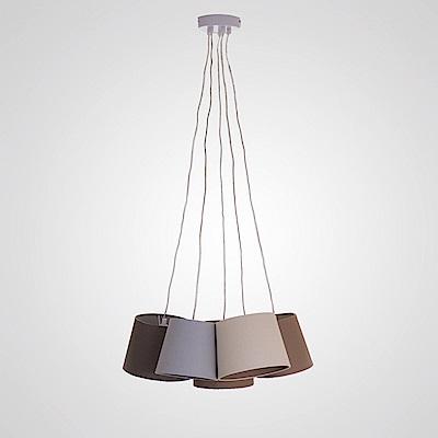 bnatural 亞麻布5吊燈 BNL00004