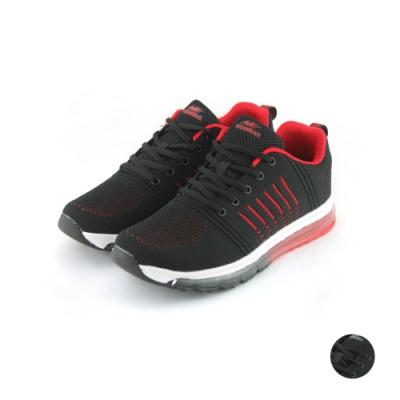 COMBAT艾樂跑男鞋-氣墊運動鞋-黑紅/黑灰(22560)