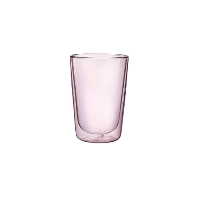 FUSHIMA富島 Addicted系列雙層玻璃杯380ML-芭蕾女伶粉