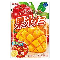 明治 果汁QQ軟糖-芒果綜合果汁味 (47g)