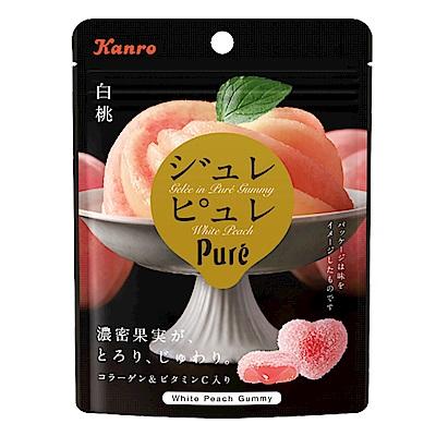 甘樂 Kanro Pure白桃味軟糖(63g)