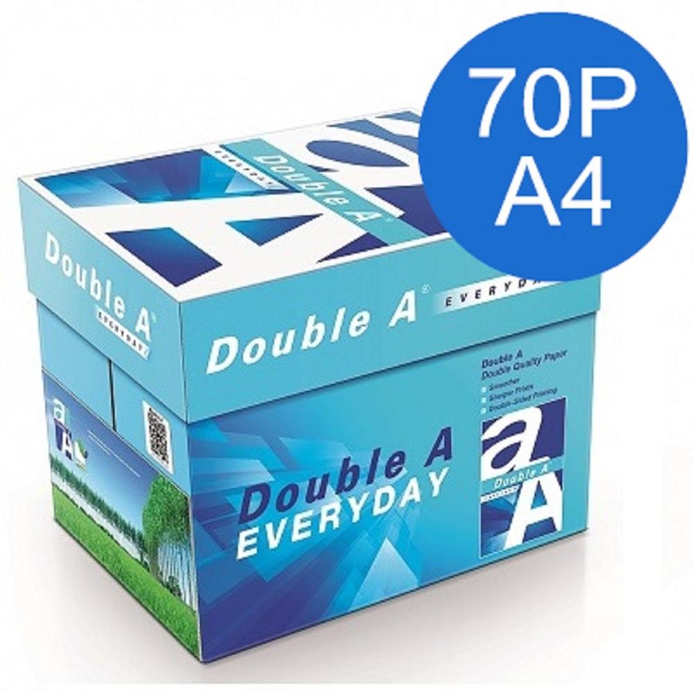 Double A 70P A4 多功能影印紙(5包/箱)