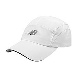 New Balance 專業慢跑帽 LAH91003WT_中性白色
