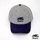 Roots配件- 海狸雙色棒球帽-灰色