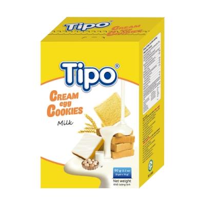 TIPO 雞蛋吐司餅-牛奶風味(90g)