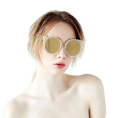 BVH 貓眼大鏡框太陽眼鏡