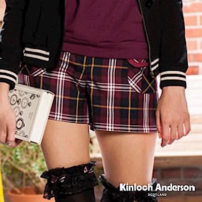 金安德森女裝-貼袋格紋短褲-2色