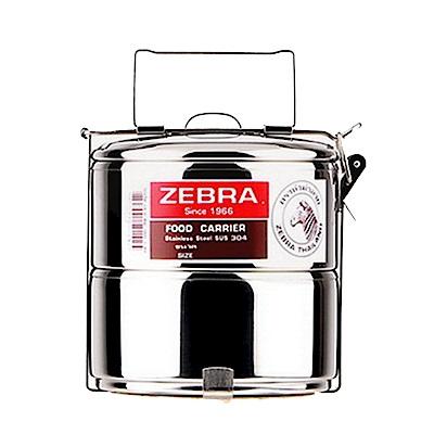 ZEBRA斑馬304不鏽鋼2層便當盒14cm