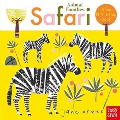 Animal Families:Safari 動物家族:野生動物篇趣味翻翻書