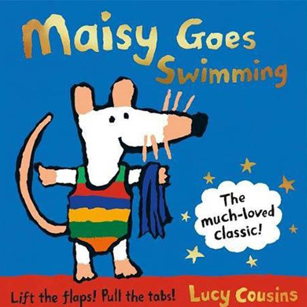 Maisy Goes Swimming 25th 波波去游泳趣味翻拉書(25週年紀念版)