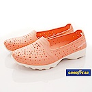 GOODYEAR-透氣洞洞機能鞋-EI2823粉桔(女段)