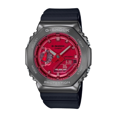 CASIO卡西歐 G-SHOCK 金屬八角型錶殼 GM-2100-多色任選