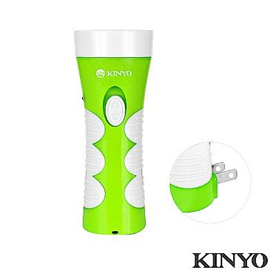 KINYO可驗鈔充電式LED手電筒LED301