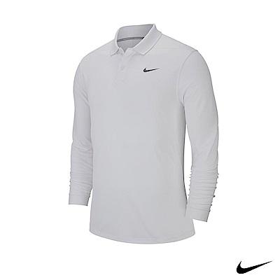 NikeGolf 男 長袖翻領運動上衣 白 891235-100