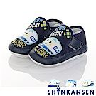 三麗鷗 新幹線童鞋 柔軟輕量寶寶學步鞋-藍