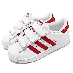 adidas 休閒鞋 Superstar CF 穿搭 童鞋