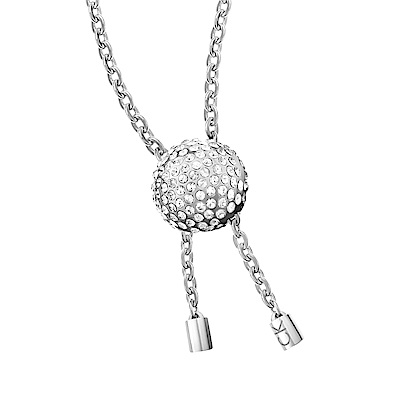 CALVIN KLEIN side 系列手鍊-球型晶鑽銀色版