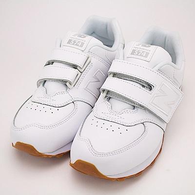 NEW BALANCE 中大童 休閒鞋-KV574G8Y-W
